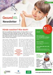 """Newsletter """"Gesund macht Schule"""", Ausgabe 1/2020"""